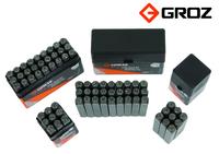 Groz Set of Number Stamps 5mm