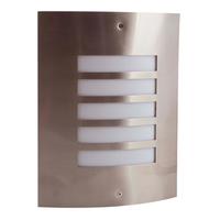 SHIELD ST/STEEL 60WATT E27 WALL LIGHT