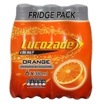 380 Lucozade Orange 6Pk x4