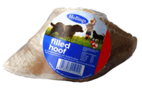 Hollings Cows Hooves - Meat Filled (Unwrapped) x 25