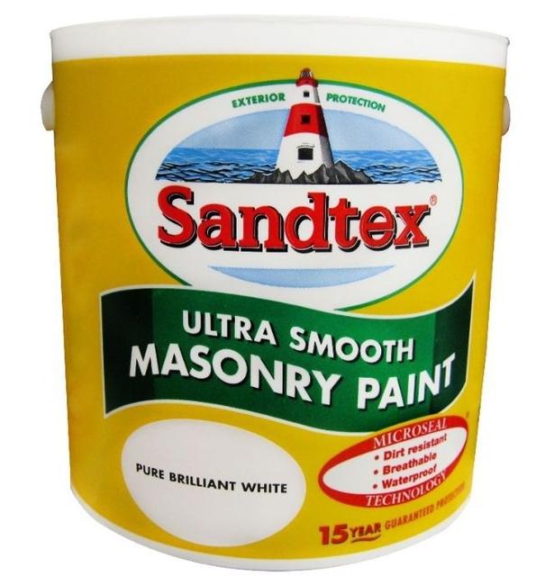 Sandtex Smooth Magnolia 5ltr Goodwins