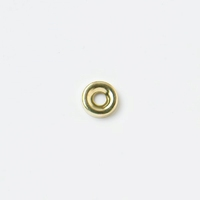 PREMIER 10 PCE NO 6 BRASSED SCREW CUP WASHERS E.B.
