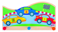 Coat Rack Race Track