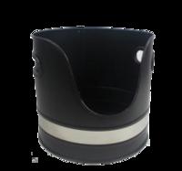 Black&Nickle Log Bucket