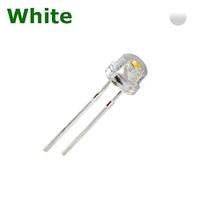 TKL-SH5W | LED DIODE 4.8 MM WHITE- STRAW HAT CLEAR BAG OF 1KPCS
