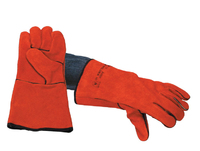Red Welders Gauntlet Glove (Pair)