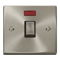 Click Litehouse DECO 20A DP Ingot Switch Neon Black Insert