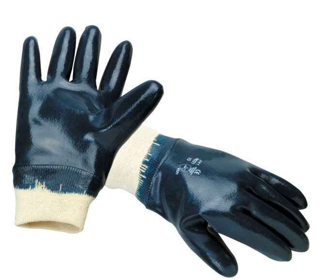 Nitrile Flex Glove with Knitted Wrist (Pair)