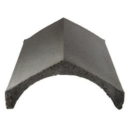 Slates Ridges Concrete Universal Black