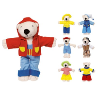 Dress-up bear in with outfits