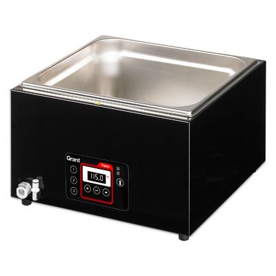 Grant Pasto Sous Vide Water Bath 12Litre Black 0.8kw
