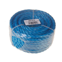 10mm Blue Poly Rope Handy Coil 15m (C573)