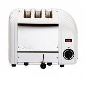 Toaster 3 Slot Standard White Ends Dualit