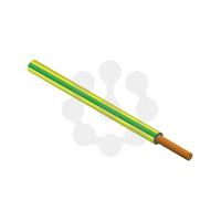 6491B LSF 6SQ Green/Yellow