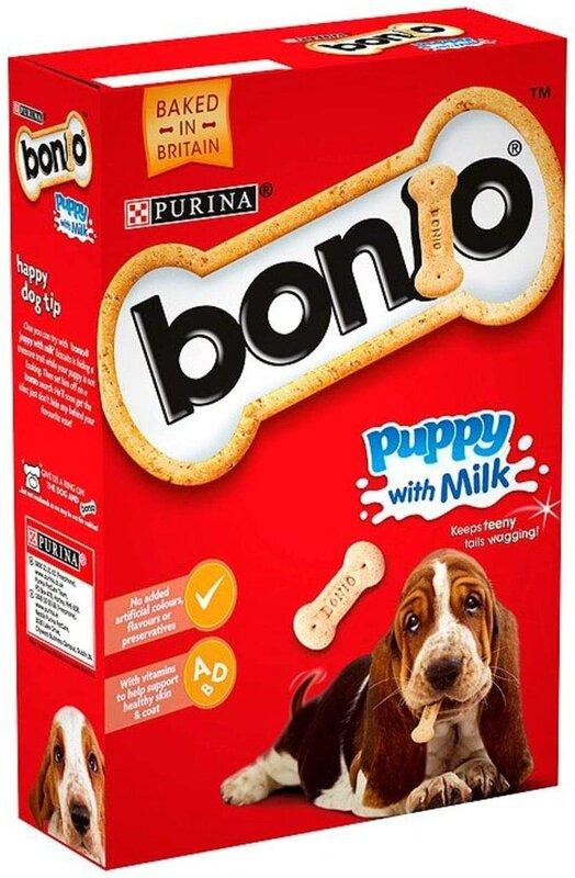 Bonio Puppy Milk Biscuits 6 x 350g