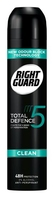 Right Guard Total Defence 5 Men Clean Aerosol 250ml