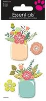 >< Flower Jars  Essential Craft Sticker.