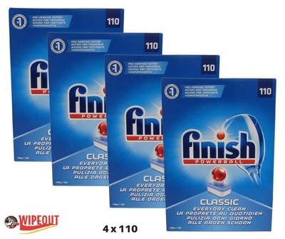FINISH DISHWASHER TABLETS 4x110