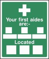 First Aid Sign FAID0007-0554