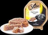 Sheba Foils - Fine Flakes Chicken in Jelly 85g x 22