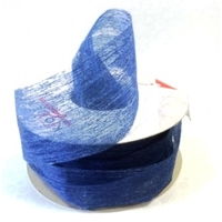 40MM TESS SOFT PAPER RIBBON R/BLUE X 20MTR