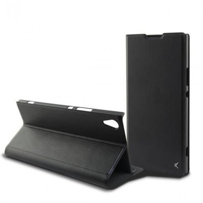 Ksix Black folio case for Xperia L1