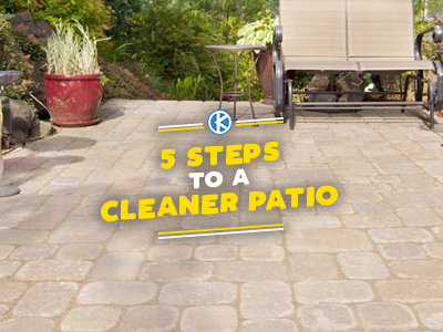 5 Steps for a Cleaner Patio