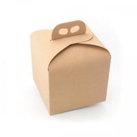 BOX GIFT/CAKE 200X200X180MM  NATURAL
