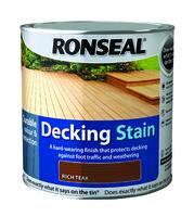 Ronseal Decking Stain 2.5L Rich Teak