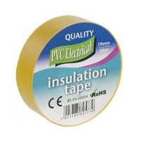 19mm x 20m Electrical PVC Yellow Tape