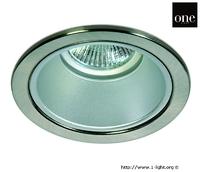 ONE Light Chrome Trim Large Round Downlight