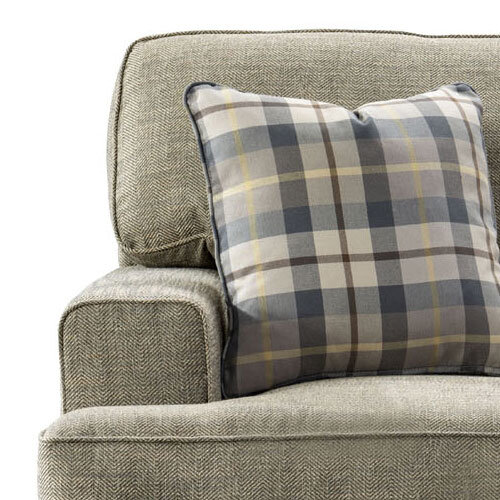 Tides Fabric 3 Seater Sofa Zoomed In