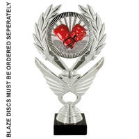 25cm Silver Winged Trophy to suit Blaze Discs