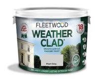 Fleetwood Weather Clad Pearl Grey 10Ltr
