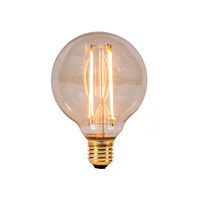 Bell 4W LED ES Vintage Globe Amber