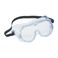 CHEMICAL & IMPACT GRINDING GOGGLES CLEAR PAIR
