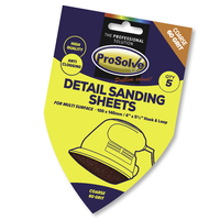 PVDSP60 PROSOLVE DETAIL SAND SH H&L 100X140MM 5PC