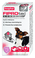 Beaphar FIPROtec COMBO Small Dog Spot On 3 Tube x 1