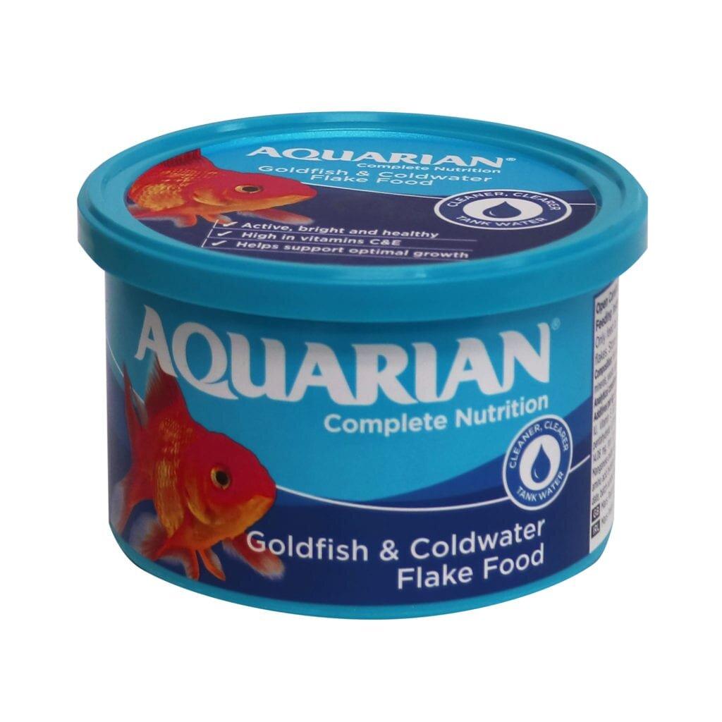 Aquarian Goldfish & Coldwater Flake Food 50g x 6