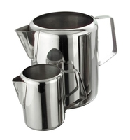 Kew Milk/Water Jug Economy Stainless Steel 70oz 2 Litre