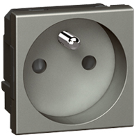 Arteor Frenh Outlet 10/16a With Shutters - Magnesium  | LV0501.2490