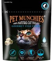 Pet Munchies Cat Treats - Gourmet Fish Fillet 10g x 8