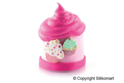 3D CUTTER CUP CAKES, 2 Set, Small: 23x25 mm Large: 27x34 mm