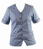 Homecare Sky Blue Tunic (V Neck)
