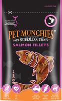 Pet Munchies Dog Treats - Salmon Fillets 90g x 8
