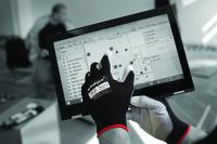 Matrix Touch Fingertip Sensitive Utility Glove