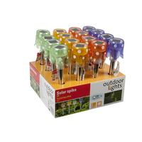 Solar Lights Led Asst Colours 16 Per Display Box (Flyer)