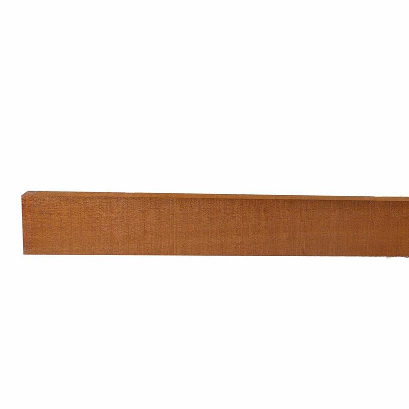 Guitar neck block African mahogany