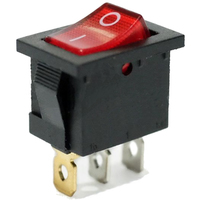 Switch | Rocker Switch Mini 3 Pins SPST On-Off 12V Lamp