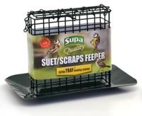 Supa Suet Block / Scraps Feeder with Tray x 1